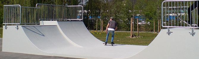 τσιμεντένια πίστα skate