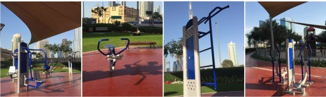 γυμναστήριο εξωτερικού χώρου